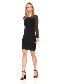 Bailey 44 Women's Round up Fitted Long Sleeve Dress  S