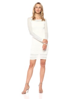 Bailey 44 Women's Round up Fitted Long Sleeve Dress  XS