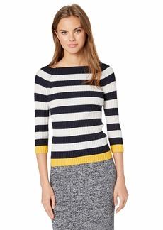 Bailey 44 Women's Salty Dog Contrast Stripe Sweater