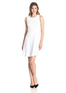 Bailey 44 Women's Scored Eyelet Fit and Flare Dress
