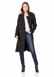 Bailey 44 Women's Secret Agent Superluxe Fleece Trench Coat  S