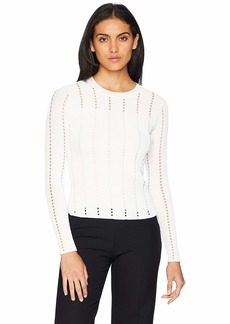 Bailey 44 Women's Siberean Pointelle Rib Sweater  XS