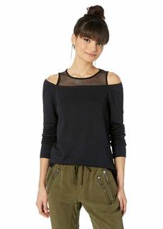 Bailey 44 Women's Snug as a Bug Open Shoulder Fleece Sweatshirt  XS