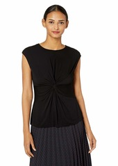 Bailey 44 Women's Solid Hynotic Top with Twist Front