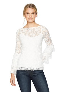 Bailey 44 Women's Sorority Lace Tiered Top  XS
