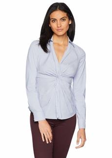 Bailey 44 Women's Tallula Twist Front Stripe Shirt  S