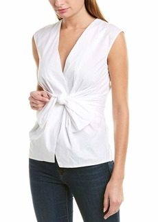 Bailey 44 Women's Tarte Stretch Shirting Top with Bow Front