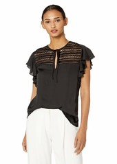 Bailey 44 Women's Trance Top with lace Inset Detail