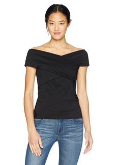 Bailey 44 Women's Twist Again Off The Shoulder Date Night Top  S