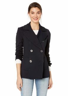 Bailey 44 Women's Windjammer Double Breasted Ponte Pea Coat Jacket