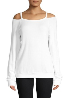 Bailey 44 Bellamar Cold-Shoulder Sweatshirt