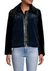 Bailey 44 Brigitte Colorblock Faux Fur Jacket