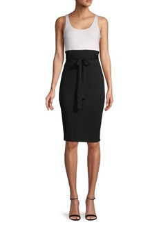 Bailey 44 Colorblock Belted Dress