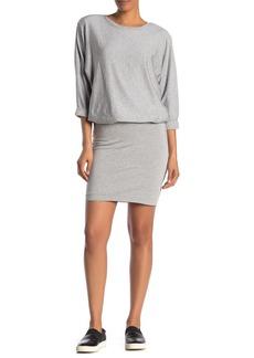 Bailey 44 Cuddled Up Fleece Blouson Sweatshirt Dress