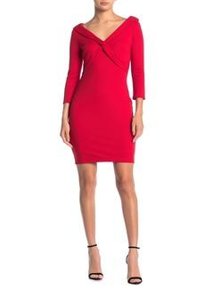 Bailey 44 Decollete Twist Front Dress