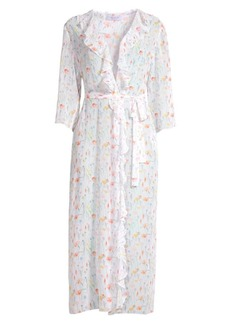 Bailey 44 Diaphaneous Floral Print Duster