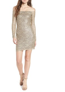 Bailey 44 Double Exposure Lace Sheath Dress