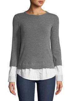 Bailey 44 Elizabeth III Crewneck Combo Sweater