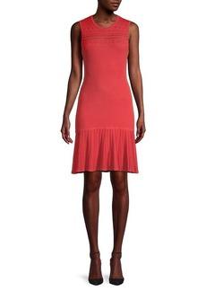 Bailey 44 Evalina Stretch-Knit Flounce Dress