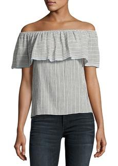 Bailey 44 Fetir Off-The-Shoulder Cotton Top