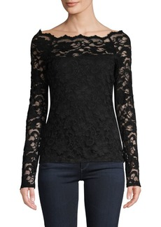 Bailey 44 Floral Lace Top