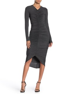 Bailey 44 High Roller Ruch High/Low Dress