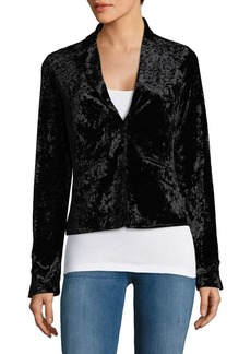 Bailey 44 Jump Cut Crushed Velvet Jacket