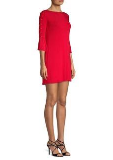 Bailey 44 Lace Up Mini Dress