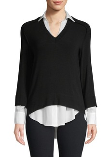 Bailey 44 Layered V-Neck Sweater
