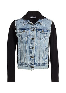 Bailey 44 Le Mot Juste Denim & Knit Combo Jacket