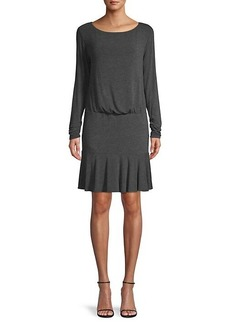 Bailey 44 Long-Sleeve Ruffled Dress