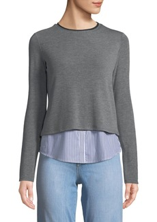 Bailey 44 Manchester Striped Combo Pullover Sweater