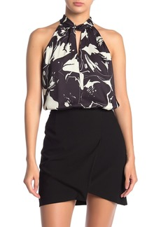 Bailey 44 Marina Patterned Keyhole Top
