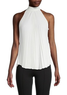 Bailey 44 Nora Pleated Halter Top