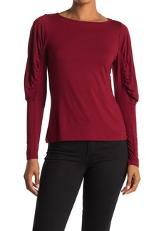 Bailey 44 Olivia Puffed Sleeve Top