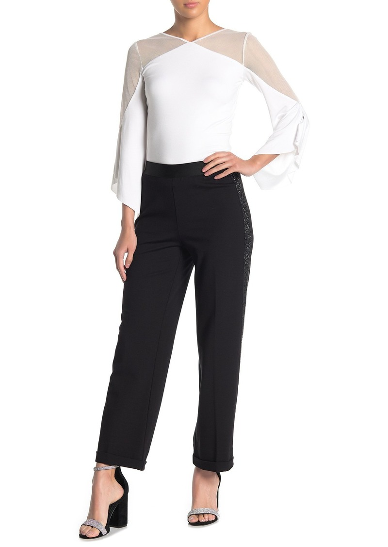 Bailey 44 Payoff Sparkly Side Ponte Pants