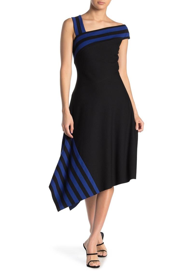 Bailey 44 Peterson One-Shoulder Asymmetrical Hem Dress