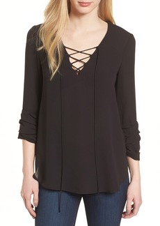 Bailey 44 Ramen Lace-Up Front Top