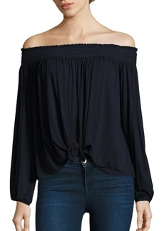 Bailey 44 Regatta Off-the-Shoulder Top