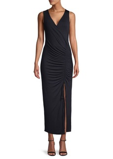 Bailey 44 Ruched Sleeveless Sheath Dress