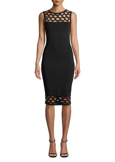 Bailey 44 Shake Your Groove Thing Cutout Sweater Dress