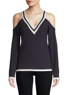 Bailey 44 Sheffeild Cold-Shoulder Sweater