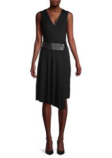 Bailey 44 Sleeveless Faux Wrap Dress