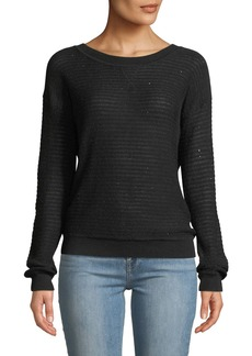 Bailey 44 Slo-Mo Sequined Crewneck Sweater