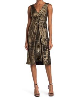 Bailey 44 Sofia Twist Front Jacquard Dress