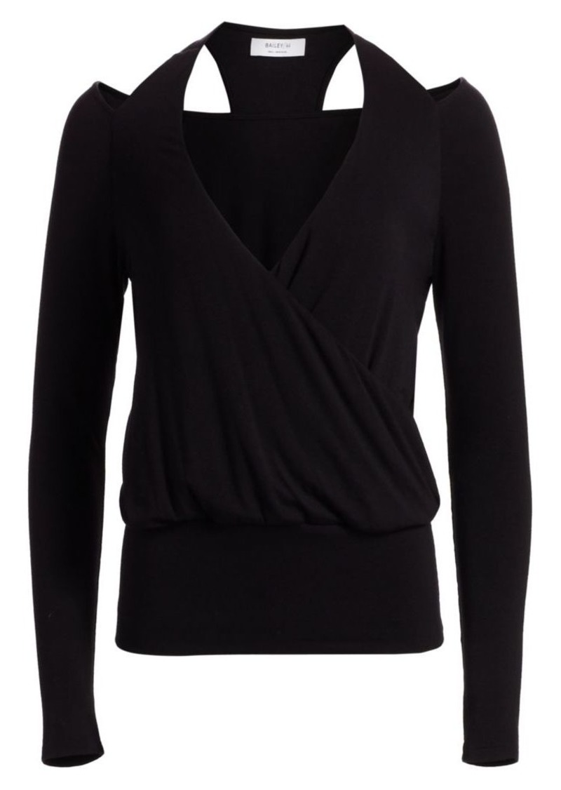 Bailey 44 Stahl Cutout Sweater