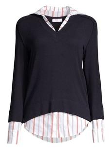 Bailey 44 Trompe-Loeil Twofer Sweater