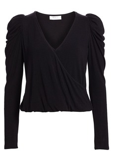 Bailey 44 Victoria & Albert Puff-Sleeve Blouson Top