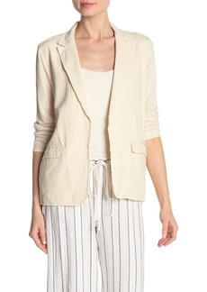 Bailey 44 Yak Frayed Silk & Linen Jacket