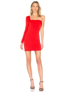Baja East x REVOLVE One Shoulder Mini Dress